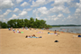 Clinton Lake swim beach