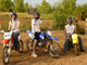 Friends gather at the Perry Lake ATV trail for some fun riding dirt bikes.