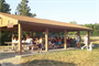 Old Town Shelter offers a area to picnic for large groups. The shelter is open for use from 6:00am - 10:00pm and may be reserved fro $20.00/day. For more information go to our shelters link.