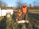 One of the youth hunters from our special park hunt shows off the doe he harvested. For more information on youth hunts and other special hunts go to the special hunt link.