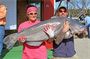 Milford Lake record blue catfish - 82 lbs